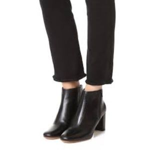 LOEFFLER RANDALL Greer Leather Ankle Boots